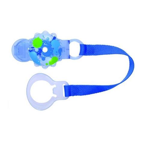 Accessori per la pappa - Portasucchietto Twist - clip and cover azzurro [20710-5449] by Mam