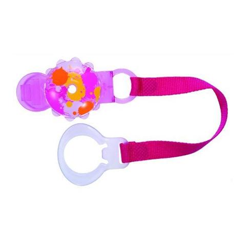 Accessori per la pappa - Portasucchietto Twist - clip and cover rosa [20710-5449] by Mam
