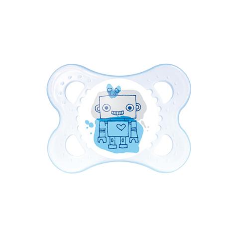 Biberon e succhiotti - Succhietto Original silikonseta 2 - 6 mesi - azzurro [20230] by Mam
