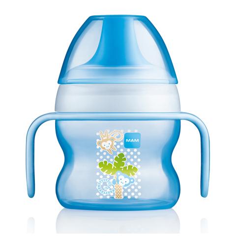 Biberon e succhiotti - Starter Cup - 150 ml. azzurro  [23005] by Mam