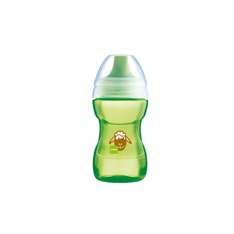 Biberon e succhiotti - Tazza learn to drink verde 270 ml. [23020 - 1779] by Mam