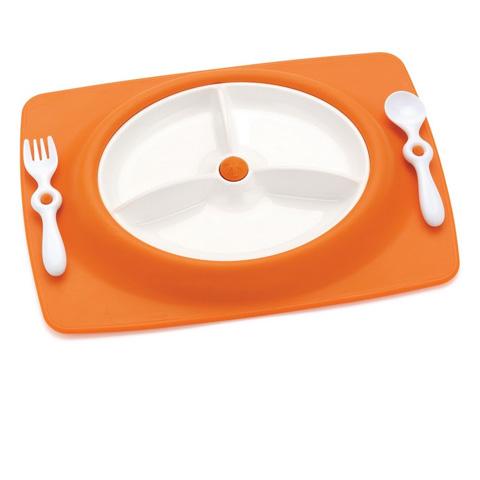 Accessori per la pappa - Mate - tovaglietta americana con scompartimenti pappa Orange [SK263001] by Skip Hop