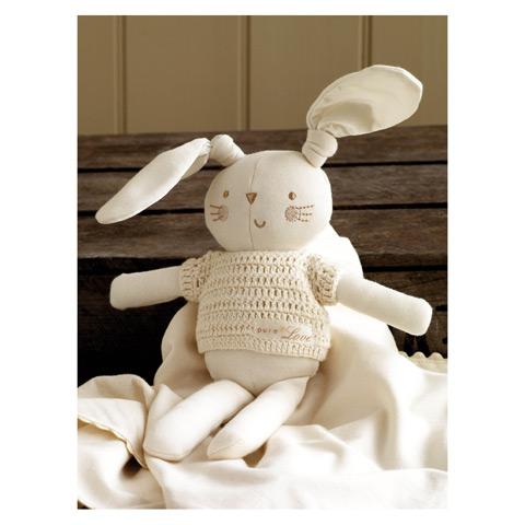 Coniglietto regalo Bunny Boy in promozione a prezzo scontato su Culladelbimbo.it!