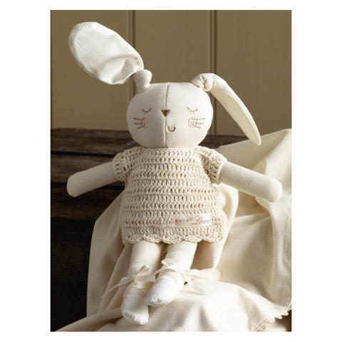 Coniglietto regalo Bunny Girl in promozione a prezzo scontato su Culladelbimbo.it!