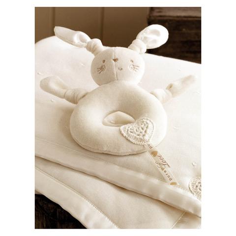 Sonaglio coniglietto in promozione a prezzo scontato su Culladelbimbo.it!