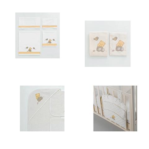Coordinati tessili - Coordinato tessile Favola Oro by MIBB