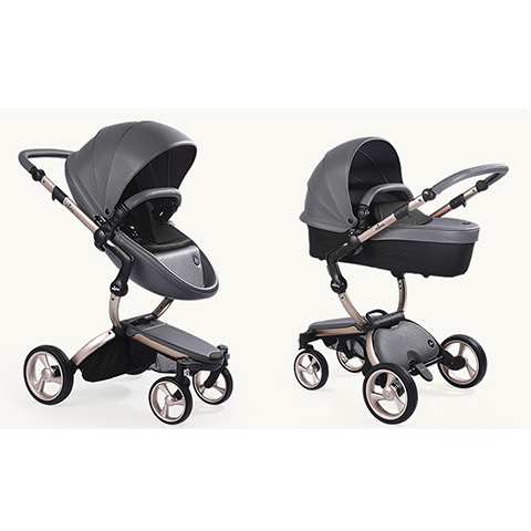 Modulari (DUO e TRIO) - Xari Rose Gold - Cool Grey/Black by Mima