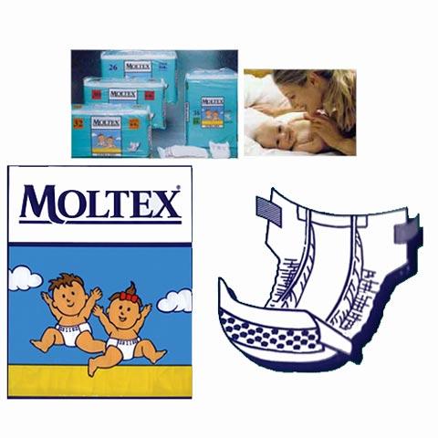 Il cambio (pannolini, etc.) - Moltex - Pannolini per bambini Maxi [8-18 Kg.] - 30 pezzi by Hygienic Pants
