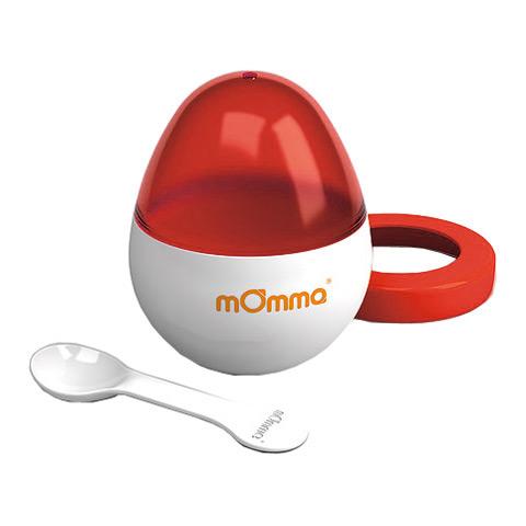 Accessori per la pappa - MOmma Egg - il cuociovetto rosso by Momma
