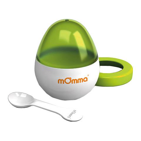 Accessori per la pappa - MOmma Egg - il cuociovetto verde by Momma