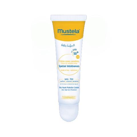 Prodotti solari - Crema schermo zone sensibili - speciale pelli intolleranti SPF 50+ 15 ml. [8701518] by Mustela