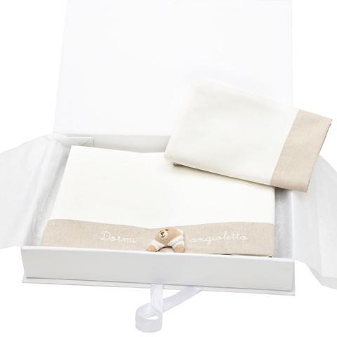 Abbigliamento e idee regalo - Set 3pz. lenzuola culla Tato  39317 by Nanan