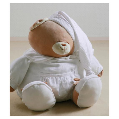 Giocattoli 9+ mesi - Peluche Tato cm. 25 [5521D/25] con sacchetto in organza by Nanan