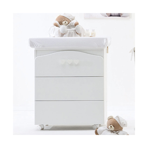 Cassettiere fasciatoio - Bagnetto fasciatoio Tato 2014 Bianco [39702] by Nanan