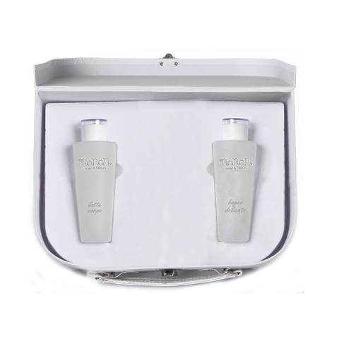 Prodotti igiene personale - Valigetta piccola Bagno delicato + Latte Corpo csm09 by Nanan