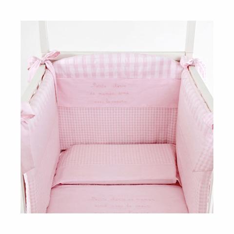 Coordinati tessili - Coordinato tessile Le Bebe Rosa by Nanan