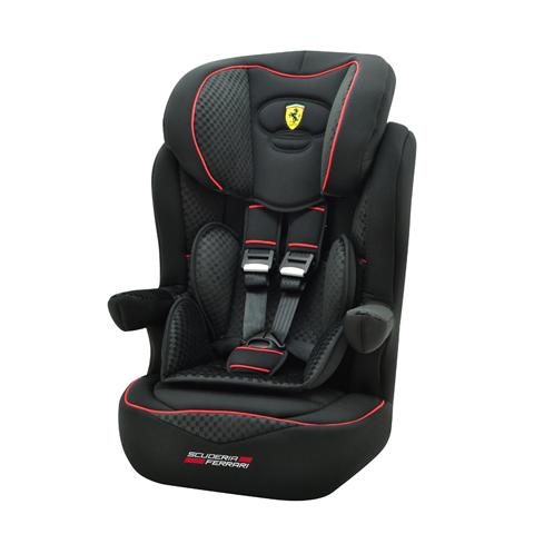 Seggiolini auto Gr.1/2/3 [Kg. 9-36] - I-Max SP - linea Ferrari Black by Nania
