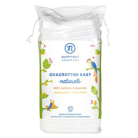 Nappynat Quadrotti Baby Cotone Bio