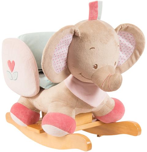 Giocattoli 12+ mesi - Dondolo - Rose Elefante 655521 by Nattou