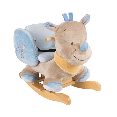 Giocattoli 12+ mesi - Dondolo - Louis Rinoceronte 644266 by Nattou