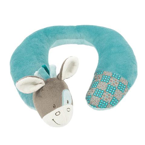 Accessori per il viaggio del bambino - Supporto per il collo 3 Mesi - Gaston Azzurro [531313] by Nattou