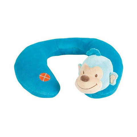Accessori per il viaggio del bambino - Supporto per il collo 3 Mesi - Monkey Arancio [413435] by Nattou