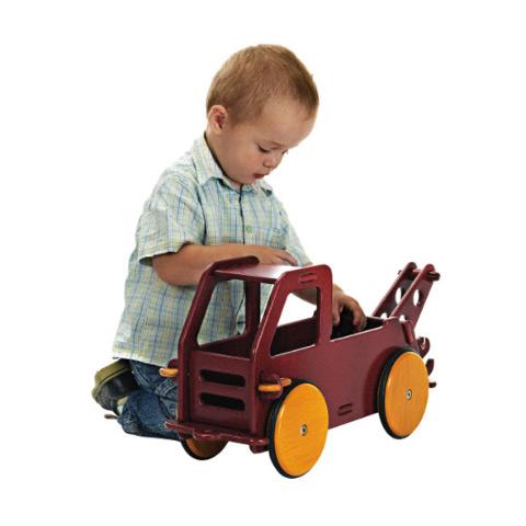 Giocattoli 6+ mesi - Primo camioncino cavalcabile Rosso by Moover
