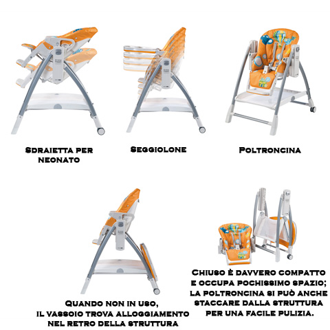 prima pappa diner high chair instructions
