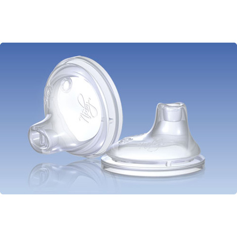 Allattamento e svezzamento - Beccucci in silicone No-Spill T NT67609 by Nuby