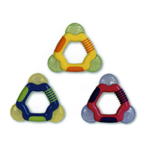 Giocattoli 3+ mesi - Triangolo massaggiagengive con ice-gel [451] 451 by Nuby