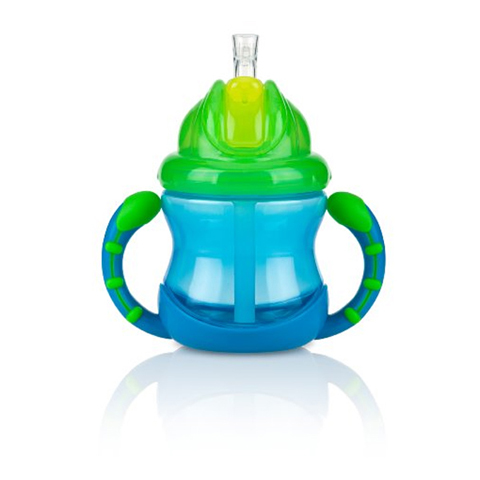 Allattamento e svezzamento - Bicchiere Poli Wrap ID9845 Blu by Nuby