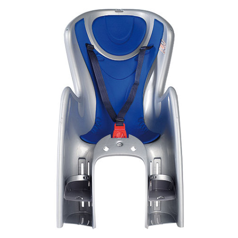 Seggiolini bici - seggiolino posteriore bici Body Guard argento [cod 29] by Okbaby