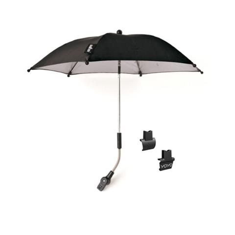 Accessori per il passeggino - Ombrellino parasole per passeggino YoYo Black by Babyzen