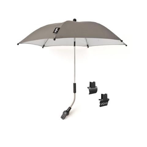 Accessori per il passeggino - Ombrellino parasole per passeggino YoYo Silver [grigio] by Babyzen
