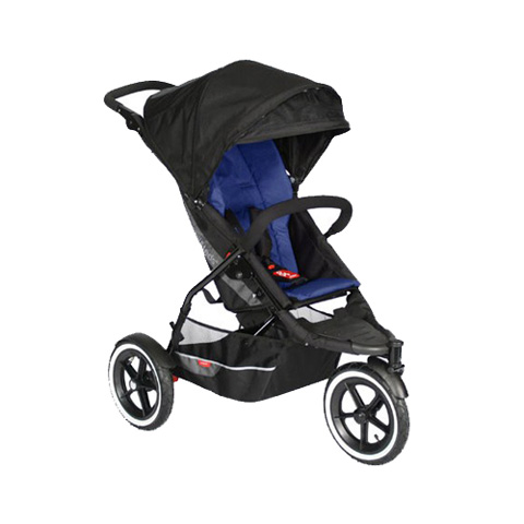 Passeggini - Explorer 3 wheels Navy by Phil and Teds