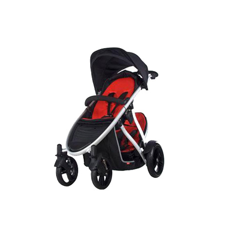 Passeggini - Verve 4 wheels Rosso-Nero by Phil and Teds