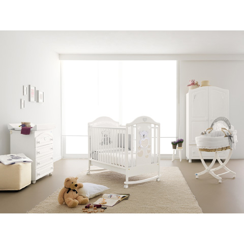 Camerette complete - Baby Baby Bianco by Pali