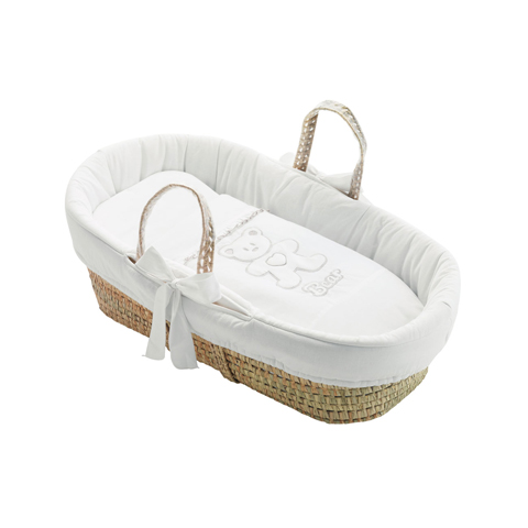 Culle complete - Cesta porta enfant Loving Bear Bianco by Pali