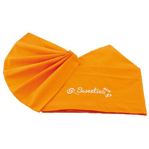 Coperte, lenzuolini e paracolpi - Lenzuolino tinta unita per lettino - Sweeties Arancio by Pali
