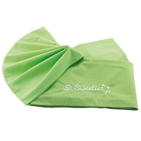 Materassi e linea bianca - Federa tinta unita per lettino - Sweeties Verde by Pali