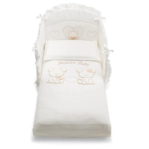 Coordinati tessili - Coordinato tessile Smart Maison Bebe Bianco-beige by Pali