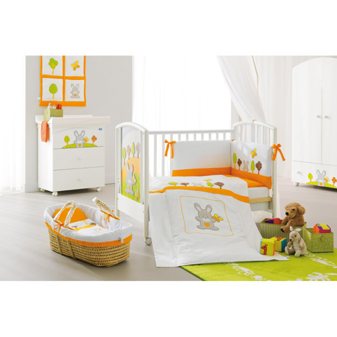 Coordinati tessili - Coordinato tessile Smart Bosco arancio by Pali