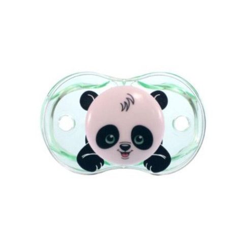Biberon e succhiotti - Keep-it-Clean - il ciuccio sempre pulito Panky Panda [PP 6850 - 007PP] by Raz Baby