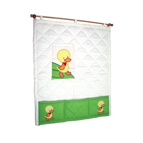 Accessori per la cameretta - Pannello murale Papere Bianco e verde by MIBB