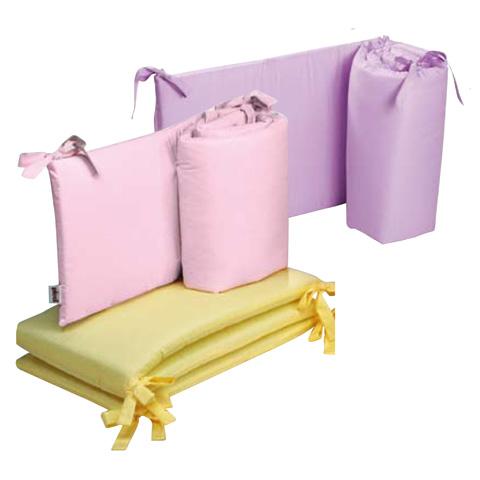 Coperte, lenzuolini e paracolpi - Paracolpi per lettino tinta unita Colorelle 08 giallo by Picci
