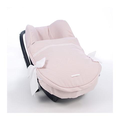 Accessori per il viaggio del bambino - Copriovetto con sacco estate Must Baby Rosa [72518] by Pasito a Pasito