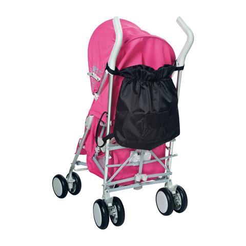 Accessori per carrozzine - Accessorio per passeggino Shopping nera by Primi Sogni