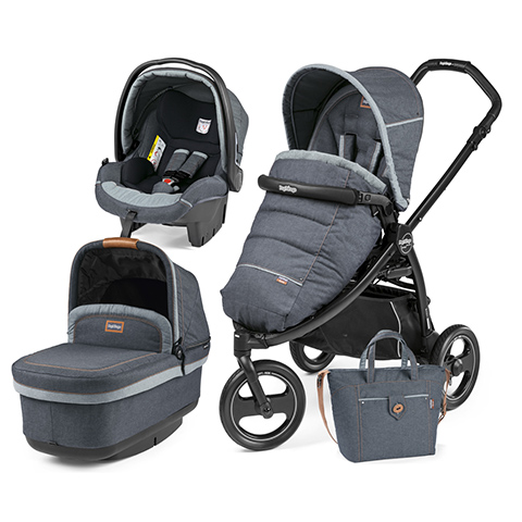 Peg Perego [TRIO] Book Scout con navetta Pop Up