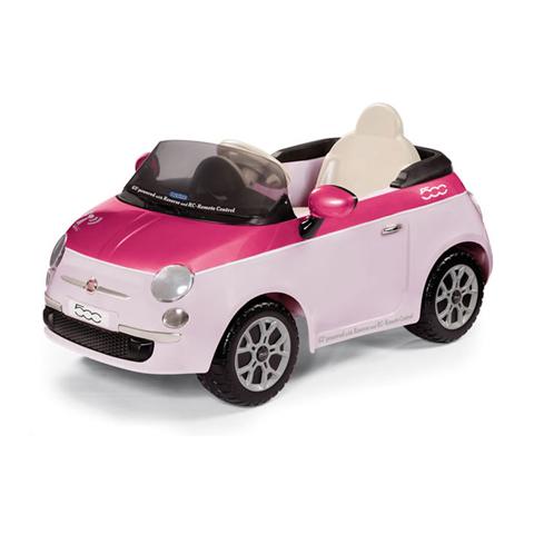 kinderauto elektroauto 6v mit fernsteuerung fiat 500 pink. Black Bedroom Furniture Sets. Home Design Ideas