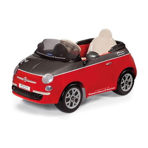 kinderauto elektroauto 6v mit fernsteuerung fiat 500 rot. Black Bedroom Furniture Sets. Home Design Ideas